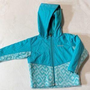 Columbia toddler girl fleece jacket